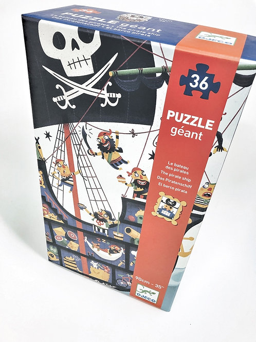 Djeco Gigantisches Puzzle Piraten