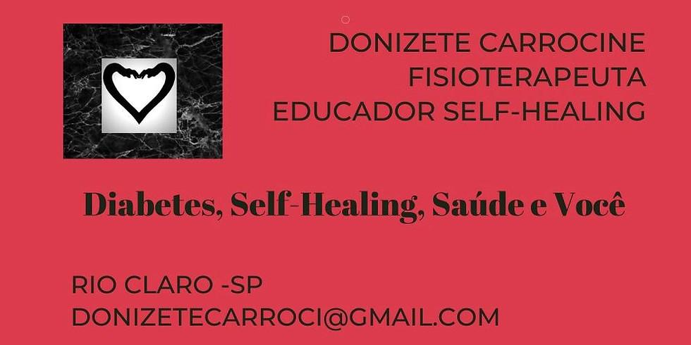 AGENDE: DIABETES e Self-Healing: Presencial c/ Donizete Carrocine