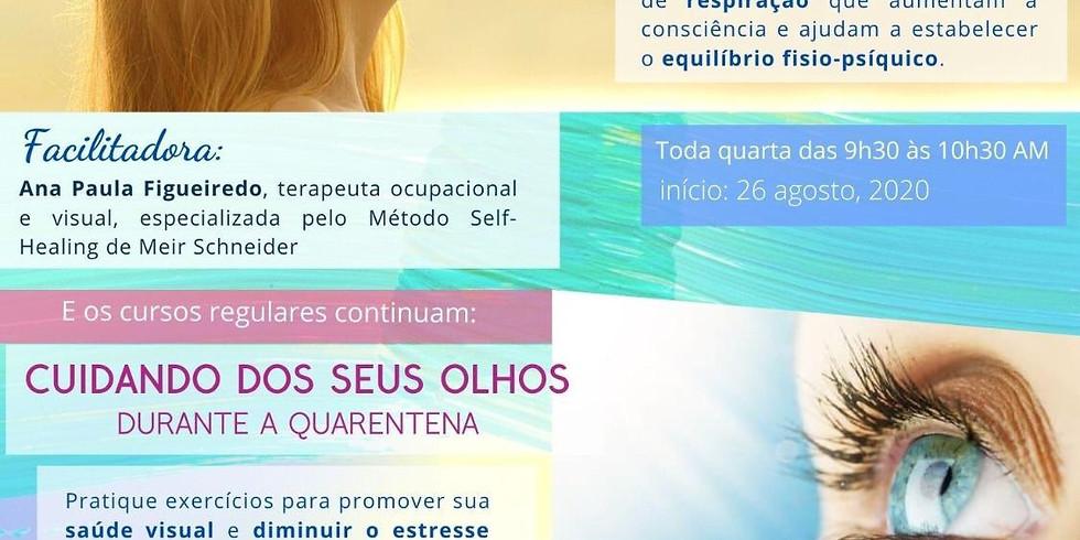 Visão e Respiração, c/ Ana Paula Figueiredo