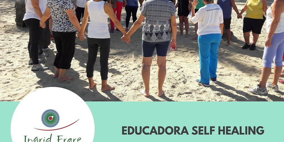 Exercícios Visuais em Grupo na Praia