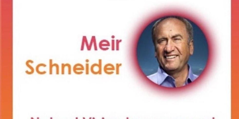 MEIR SCHNEIDER - Palestra Gratuita