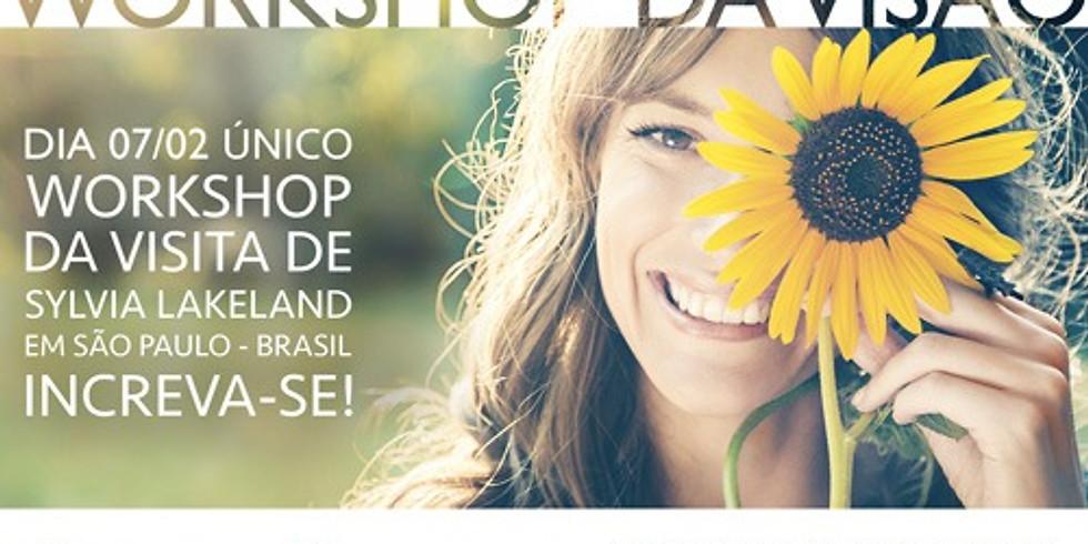 Workshop ÚNICO, visita de Sylvia Lakeland ao Brasil, não perca!
