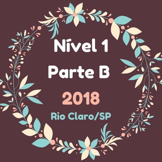 2018 Nivel 1B Laura Canto, Rio Claro
