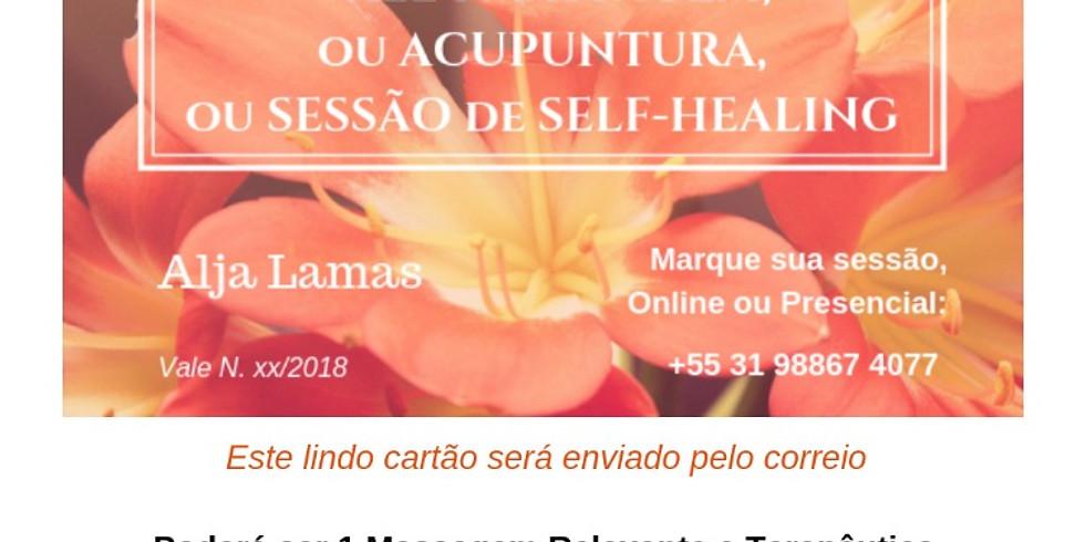 VALE 1 MASSAGEM ou SESSÃO de SELF-HEALING