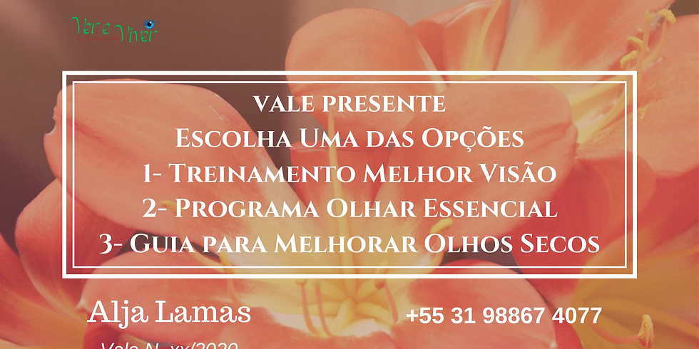 VALE-PRESENTE: Curso Online com Alja Lamas