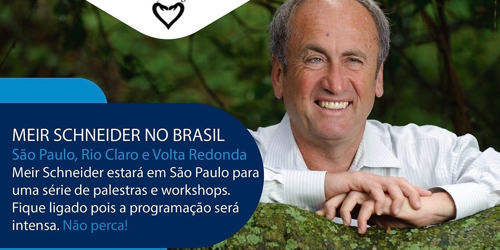 SÃO PAULO: Workshop 1 c/ Meir Schneider: MAIS SAÚDE ATRAVÉS DE MOVIMENTOS