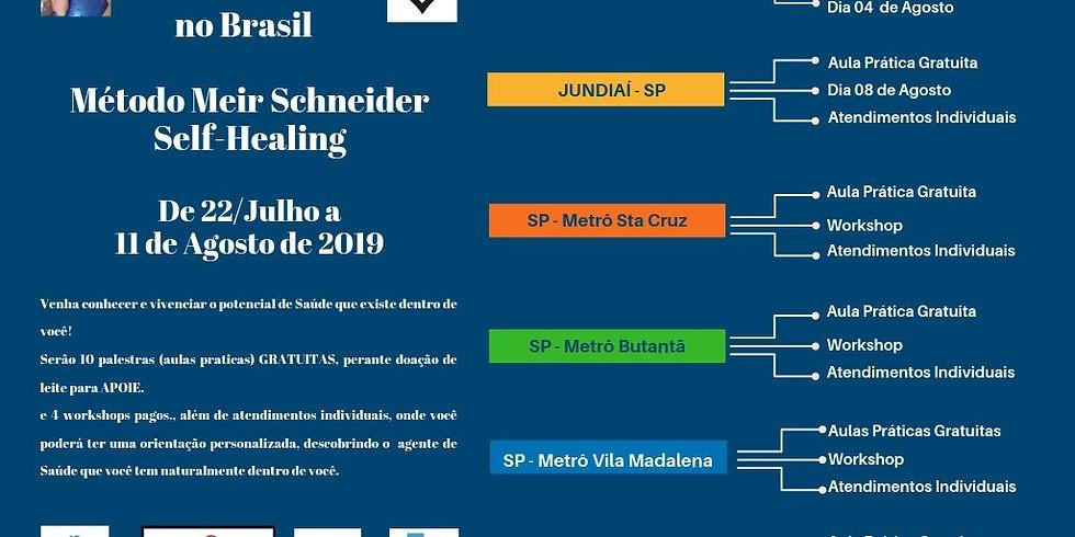 Início da Temporada Andréa Sula no Brasil