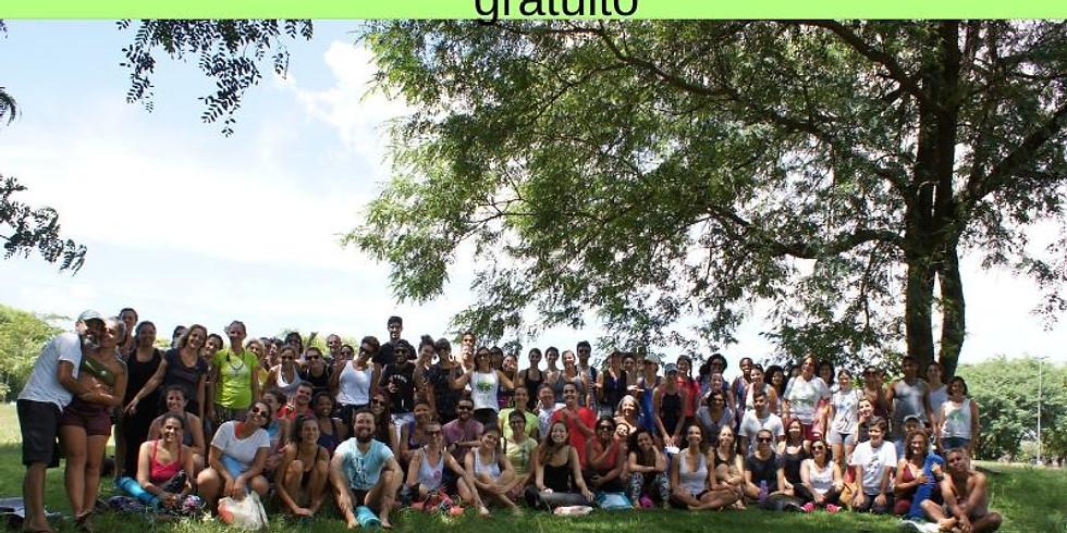 Parque da Juventude - SP: Aula Gratuita SELF-HEALING & YOGA, c/ Maritza Rebouças