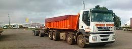 skip bin hire, 18m, 30m hook truck, roro