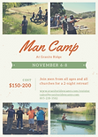 Man Camp flyer