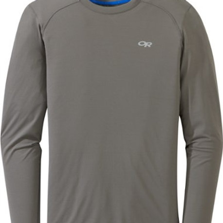 Outdoor Research Deception L-Sleeve T-Shirt - Men's Pewter Large