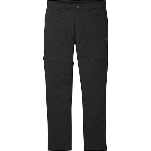 Outdoor Research W's Equinox Convertible Pant Size 8 Charcoal