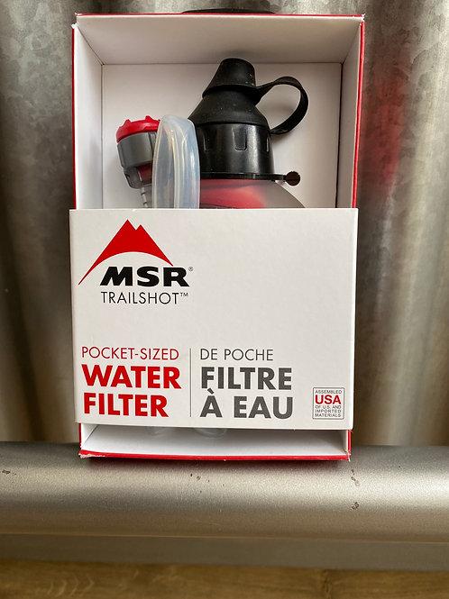 TrailShot™ Pocket-Sized Water Filter