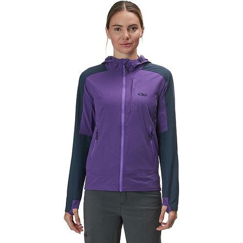 Outdoor Research Ferrosi Hooded Jacket - Women's Size 8