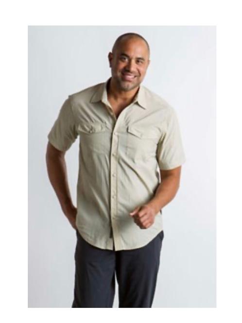 ExOfficio Syros Short Sleeve Shirt - Men's Medium