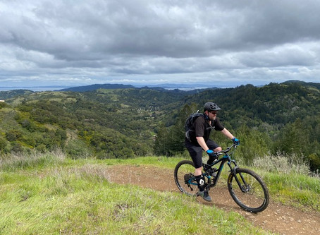 Marin shelter in place? Yes, but we can still hike & bike locally.