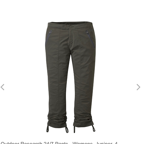 Outdoor Research 24/7 Pants - Women's Size 8