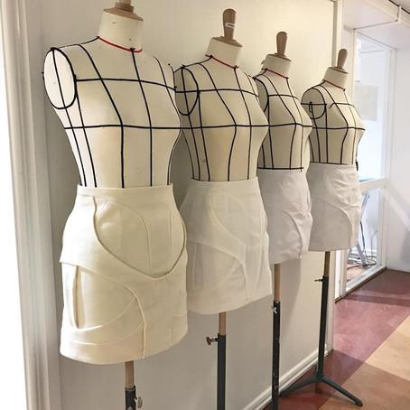 Tape skirt -The Big Deadline!