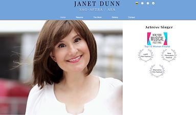 Janet Dunn Actress Website