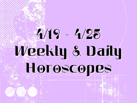 Collective Horoscopes 4/19 - 4/25