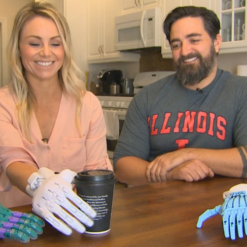 Couple Begins Initiative That Turns Ocean Trash Into Prosthetic Limbs for Kids