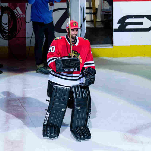 36-Year-Old Accountant with Zero NHL Experience Stars in Epic Blackhawks Win