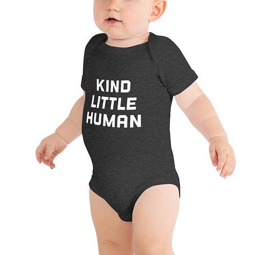 Kind Little Human Baby Onesie
