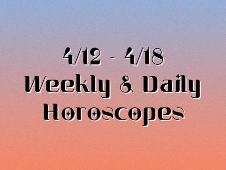 Collective Horoscopes 4/12 - 4/18