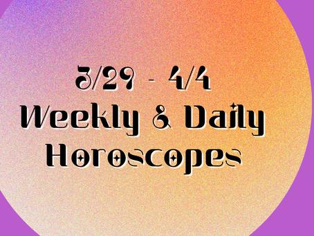 Collective Horoscopes 3/29 - 4/4