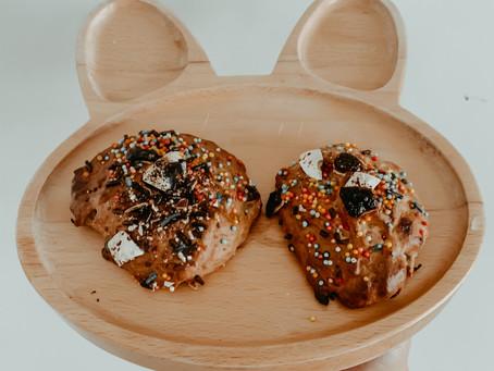 Two ingredient toddler proof cookies