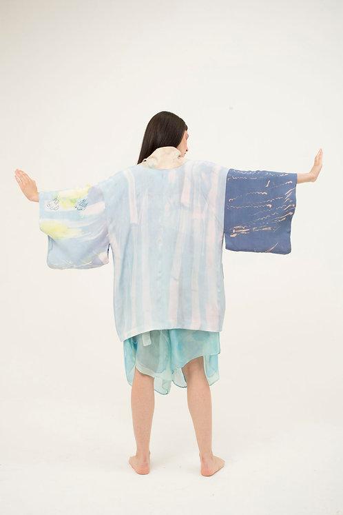 Short Kimono FOC Blue