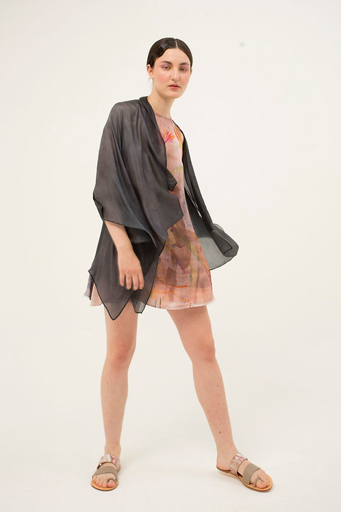 Poncho Shirt Black