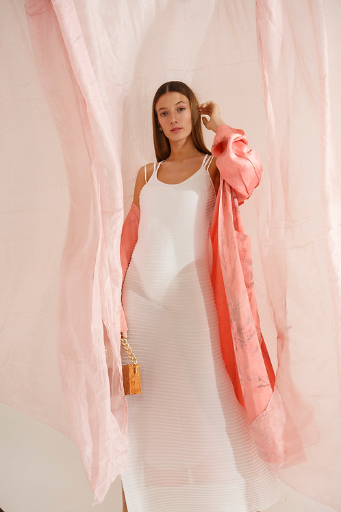 Grace Trench Pink