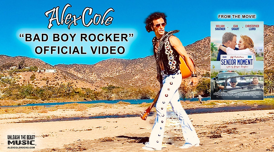 Alex Cole Bad Boy Rocker youtubethumbnai