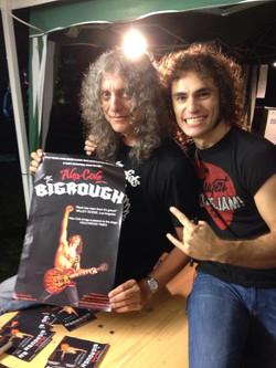 With Daniele (Metallus Magazine)