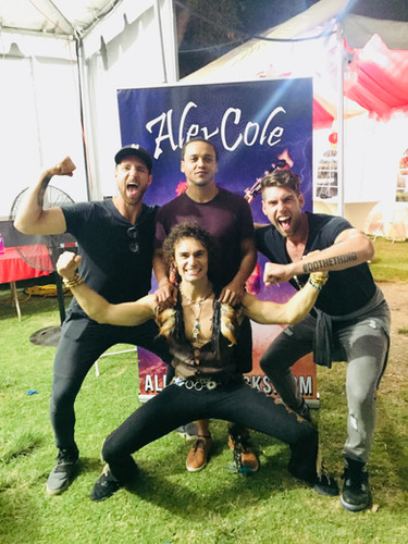Alex Cole Rocks Lotus Festival Los Angeles Jump Rope Dudes