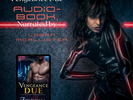 Vengeance Due Audiobook Release!