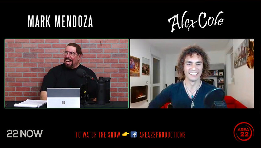 Mark Mendoza Alex Cole twisted sister 22now area productions
