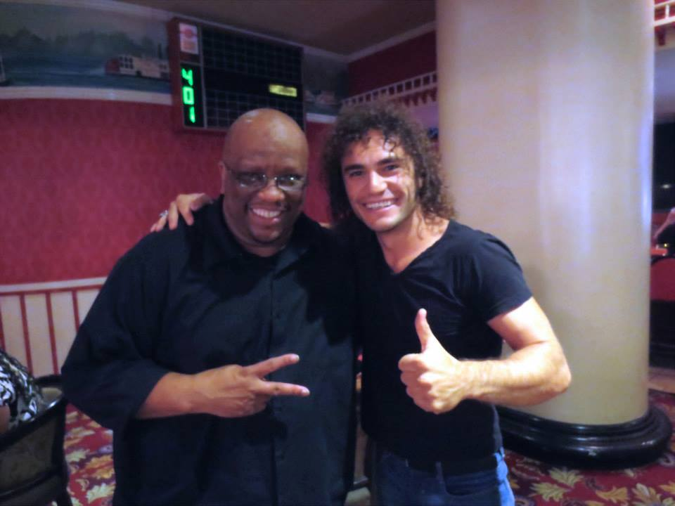 With David Williams (Bb Drifters