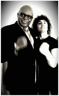With Ronnie Jones
