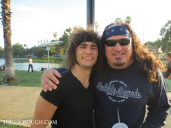 With Josh (Valley Scene Magazine)