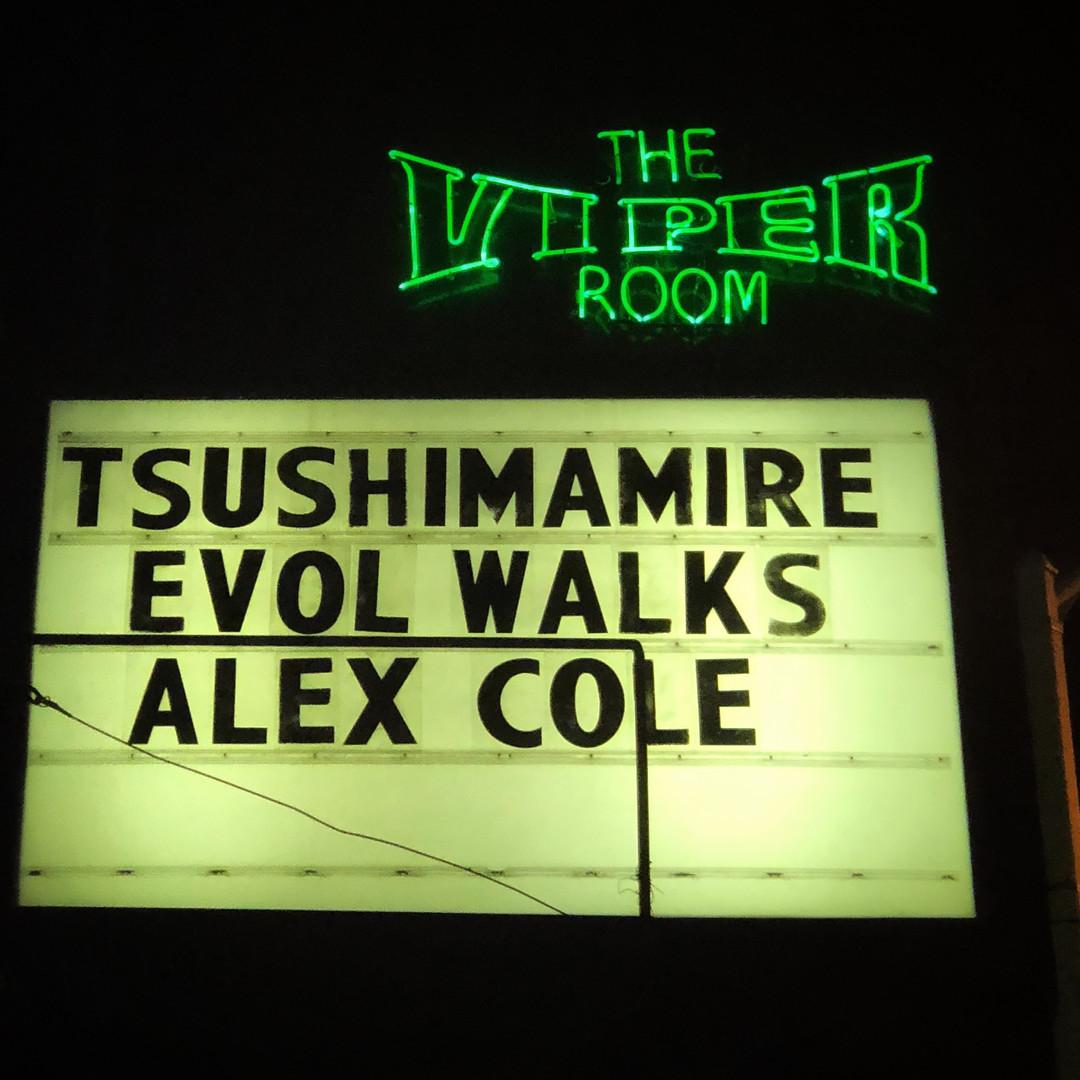Alex Cole Rocks Viper Room Hollywood