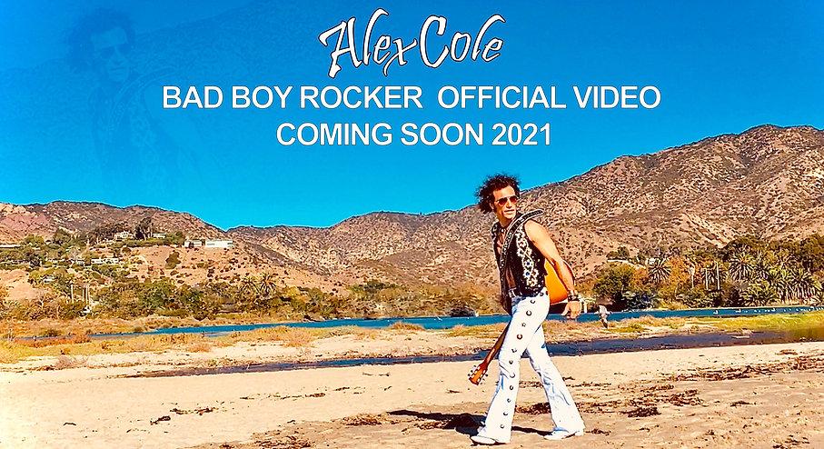 Alex Cole Bad Boy Rocker Coming Soon2021
