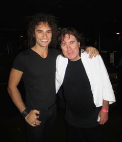 With Simon Wright (Ac/Dc)