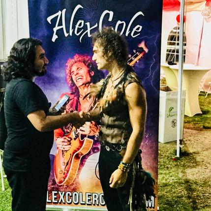Alex Cole Rocks Lotus Festival Los Angeles