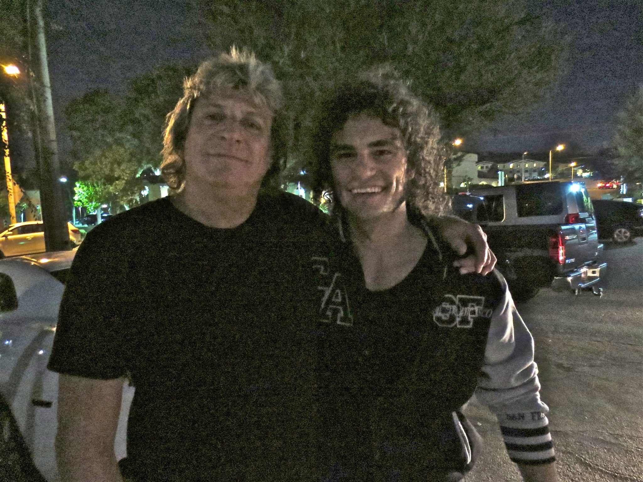 With Mick Brown (Ted Nugent,Dokken)