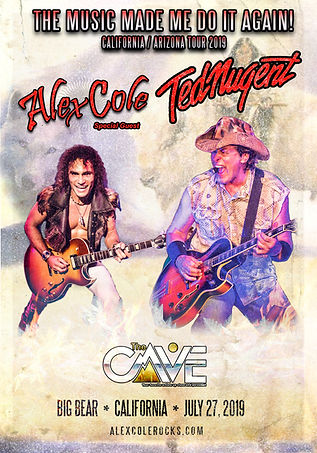 Alex Cole Ted Nugent The Cave Big Bear.j