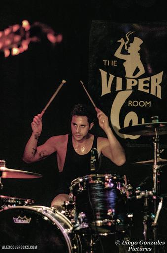 Alejandro Mercado - Alex Cole Rocks Viper Room Hollywood