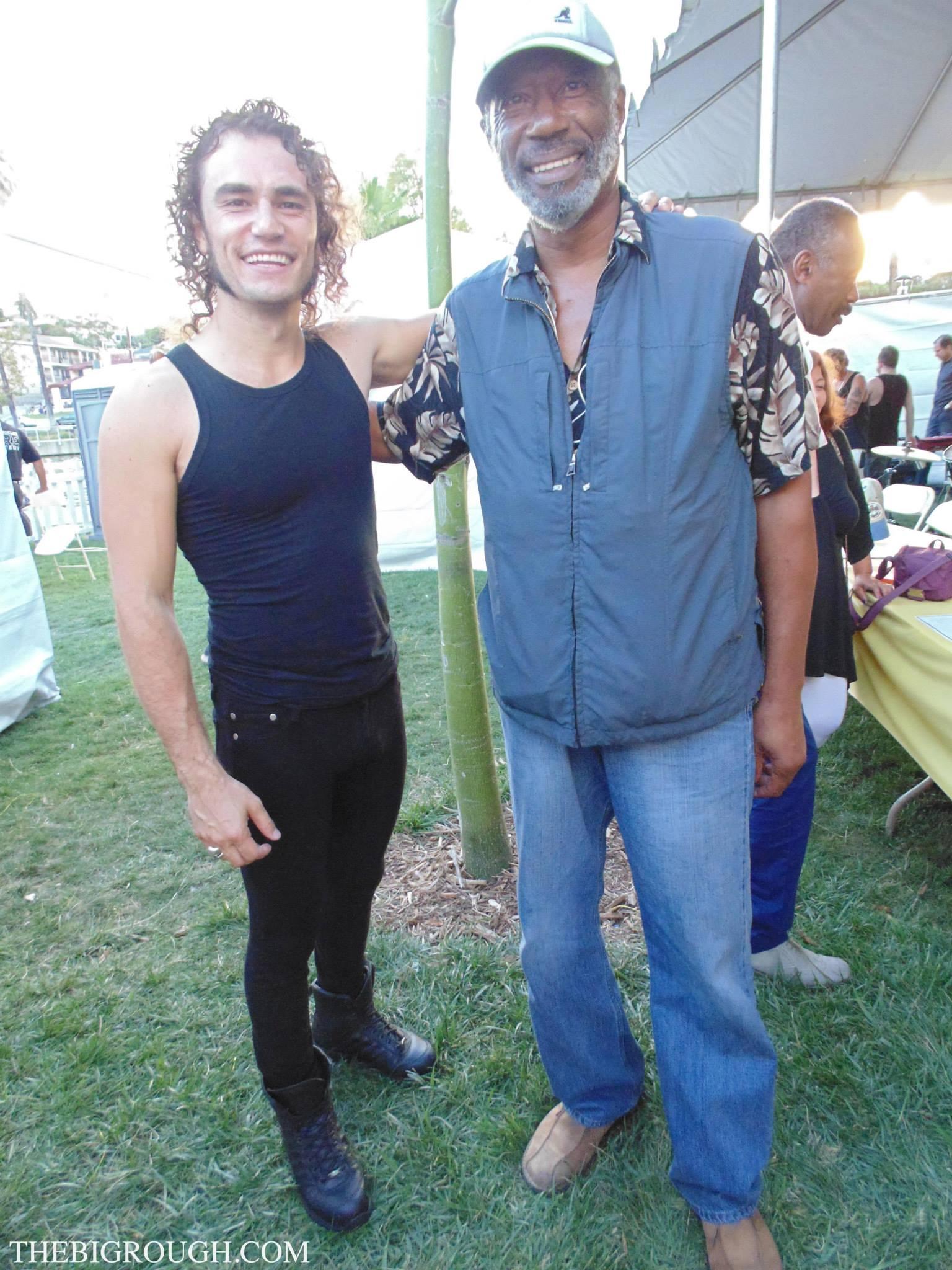 With Jerry Jemmott (Gregg Allman)