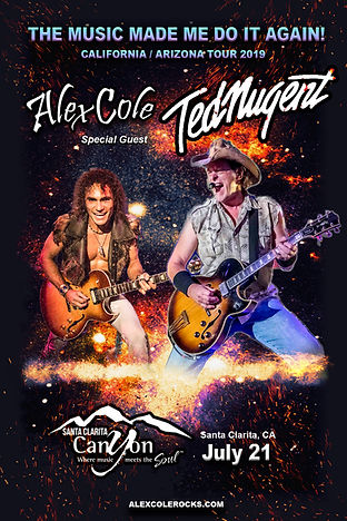 Alex Cole Ted Nugent The Canyon Santa Cl